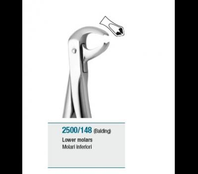 Anatomic Tooth Forceps English Pattern Lower Molars