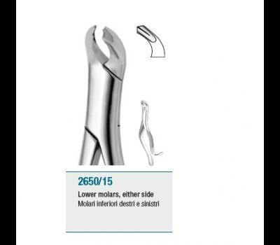 Tooth Forceps American Pattern Lower Molars either side