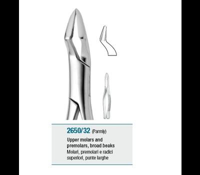 Tooth Forceps American Pattern Upper Molars and Premolars, Broad