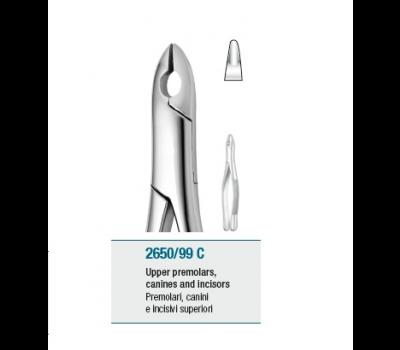 Tooth Forceps American Pattern Upper Premolars, Canines and Inci